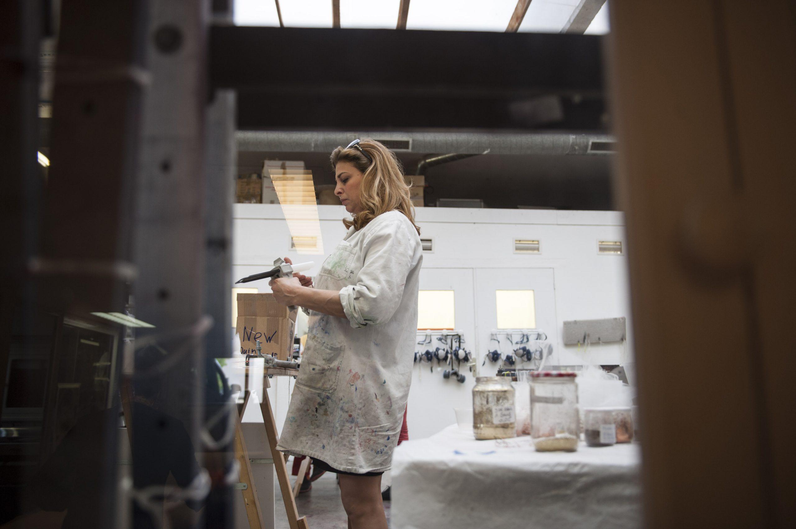 Céline Alexandre At WorkCéline Alexandre | Matières d'art dédiées aux intérieurs